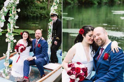 Elaine and Rich's Ardington House Wedding