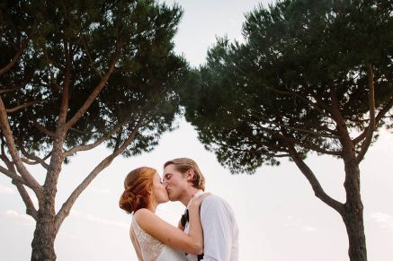 Julia and Aleksander's Destination wedding in Rome